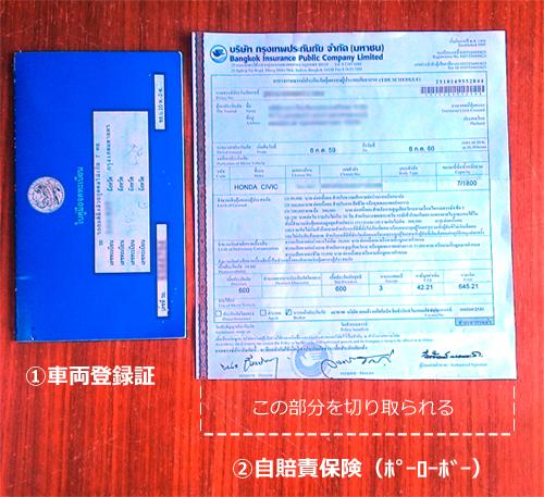 タイで自動車税の支払い バンコクの陸運局