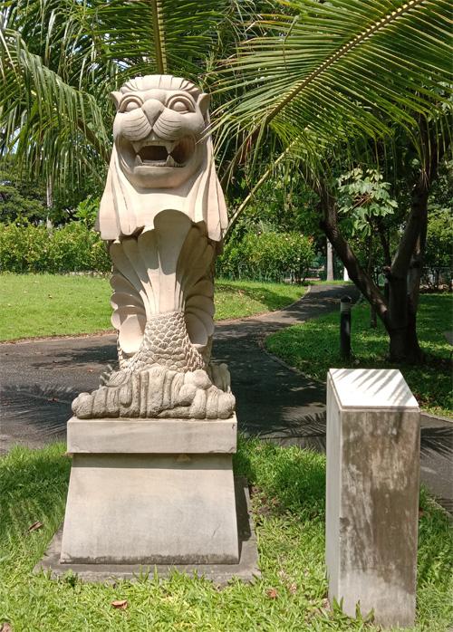 バンコク マーライオン シンガポール bangkok thailand singapole