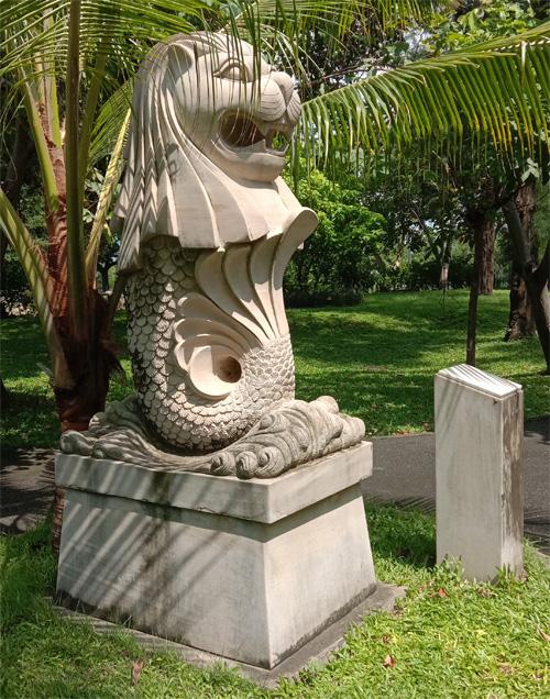 バンコクのマーライオン
