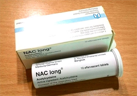 ナックロング nac long 600mg Acetylcysteine